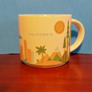 Starbucks California mug